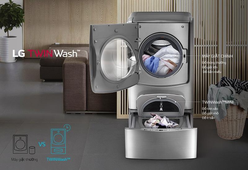 Máy giặt dành cho gia đình đông thành viên