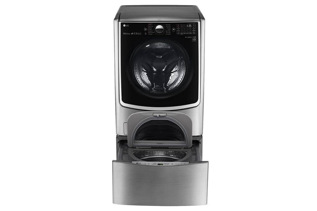 Máy giặt LG Twinwash Inverter F2721HTTV & T2735NWLV hình 2
