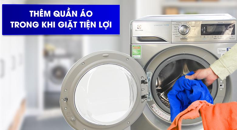 Chức năng Add Clothes - Máy giặt Electrolux Inverter 10 kg EWF14023S