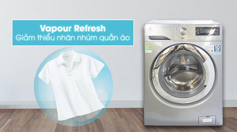 Chức năng Vapour Refresh - Máy giặt Electrolux Inverter 10 kg EWF14023S