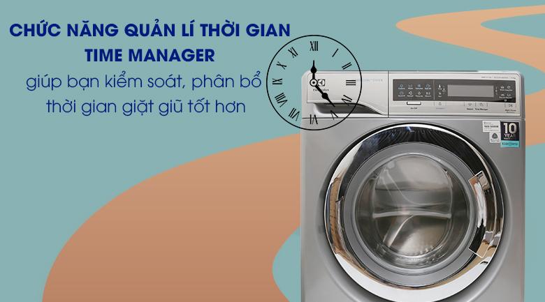 Chức năng quản lí thời gian Time Manager - Máy giặt Electrolux Inverter 11 kg EWF14113 S