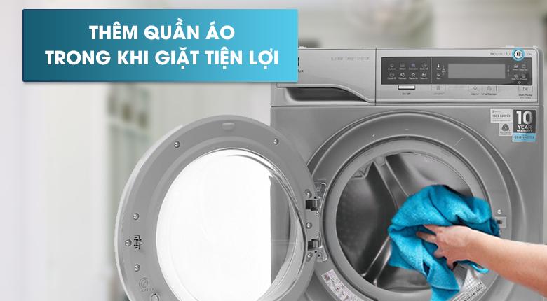 Chức năng Add Clothes - Máy giặt Electrolux Inverter 11 kg EWF14113 S
