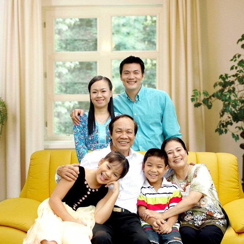 Phù hợp cho gia đình có đông thành viên