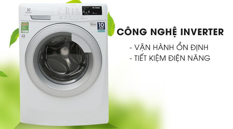 Công nghệ Inverter - Máy giặt Electrolux 8 Kg EWF12844