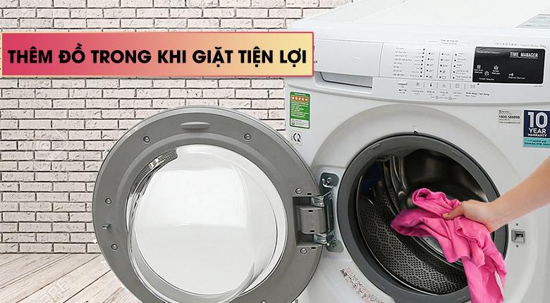Chức năng Add Clothes - Máy giặt Electrolux 8 Kg EWF12844