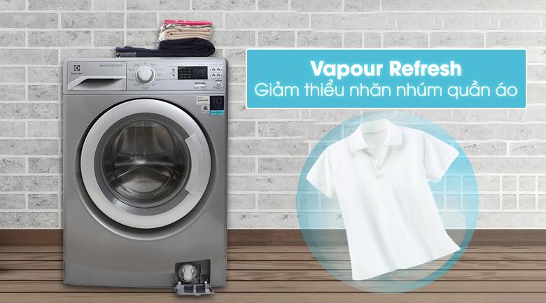 Chức năng Vapour Refresh - Máy giặt Electrolux Inverter 8 kg EWF12853S
