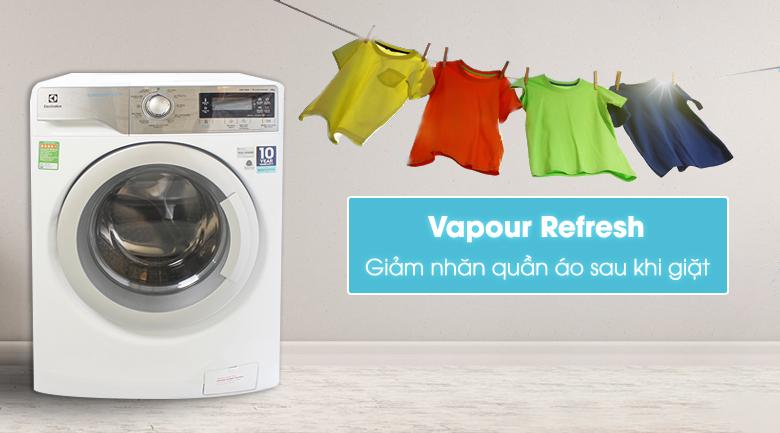 Công nghệ Vapour Refresh - Máy giặt Electrolux Inverter 9 kg EWF12933
