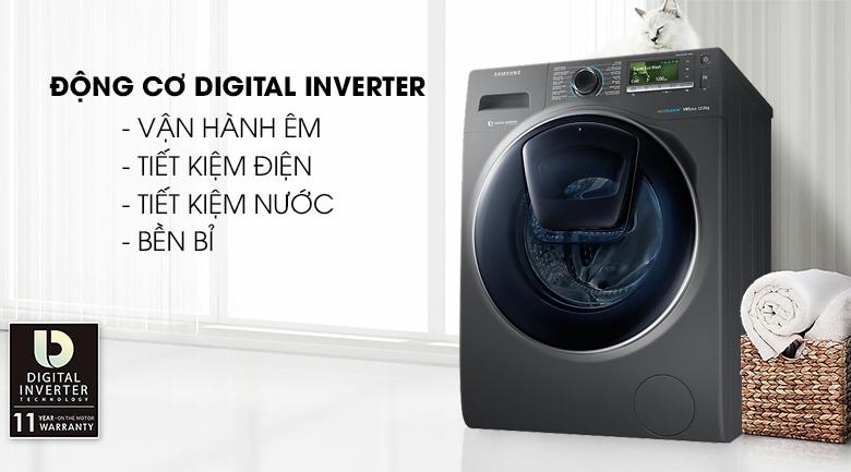 Công nghệ Digital Inverter - Máy giặt Samsung AddWash Inverter 12 Kg WW12K8412OX/SV