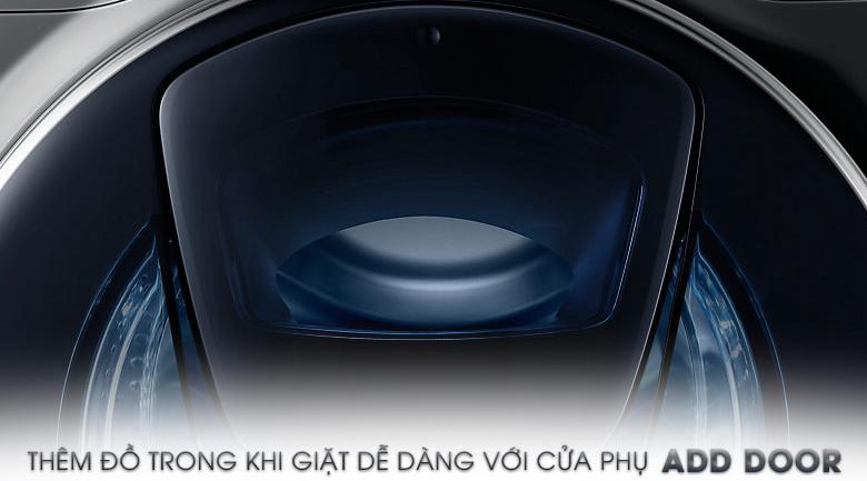 Cửa phụ Add Door - Máy giặt Samsung AddWash Inverter 12 Kg WW12K8412OX/SV