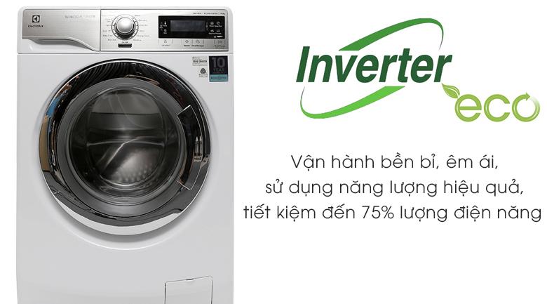 Công nghệ Eco Inverter - Máy giặt Electrolux Inverter 10 kg EWF14023