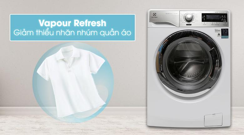 Chức năng Vapour Refresh - Máy giặt Electrolux Inverter 10 kg EWF14023