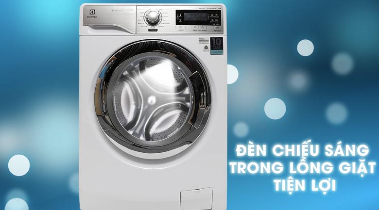 Đèn chiếu sáng trong lồng - Máy giặt Electrolux Inverter 10 kg EWF14023