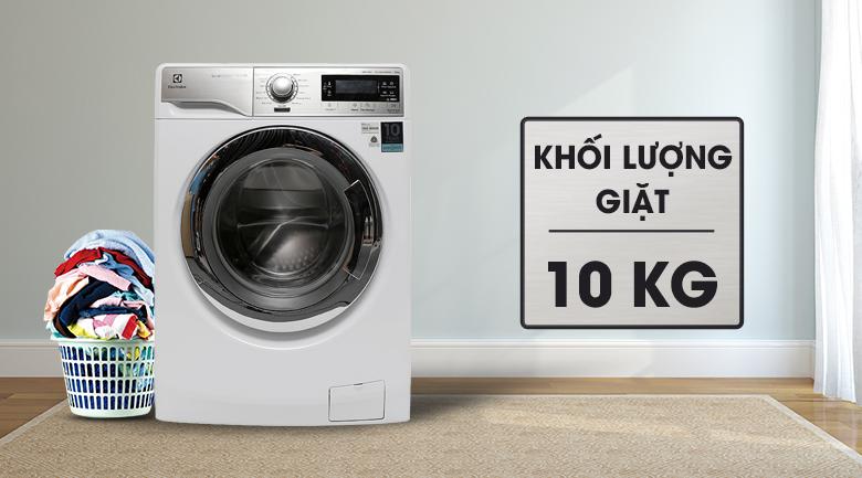 Khối lượng giặt - Máy giặt Electrolux Inverter 10 kg EWF14023