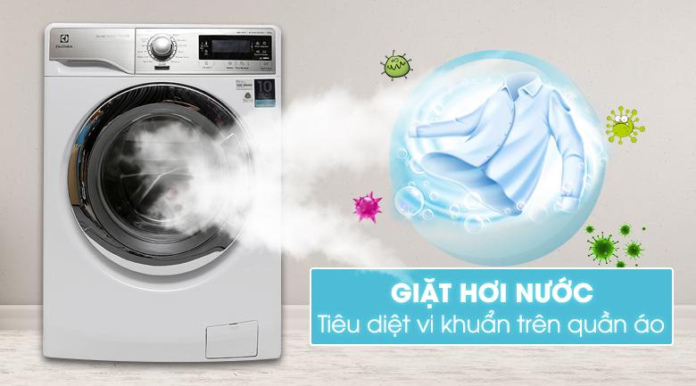 Chức năng giặt hơi nước - Máy giặt Electrolux Inverter 10 kg EWF14023