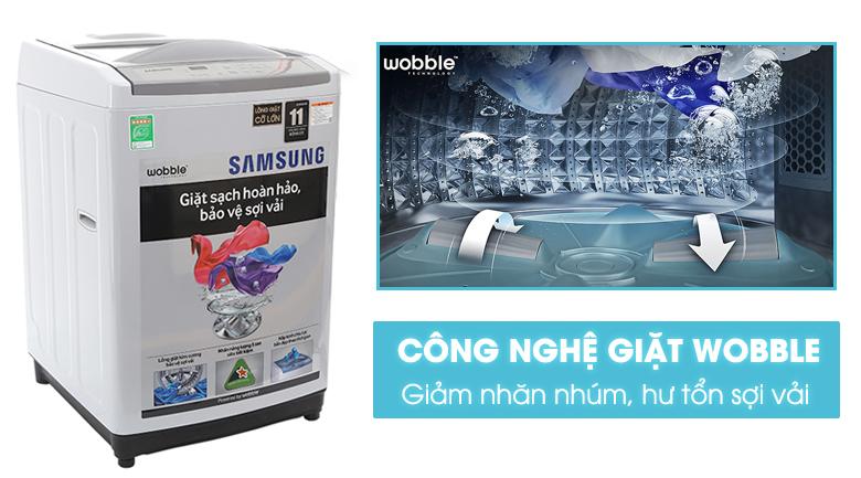 công nghệ wobble tạo luồng nước đa chiều