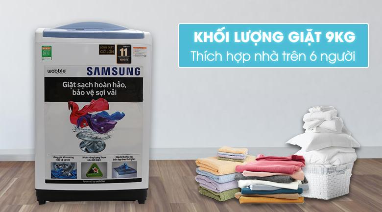 thiết kế máy giặt samsung wa90m5120sw/sv
