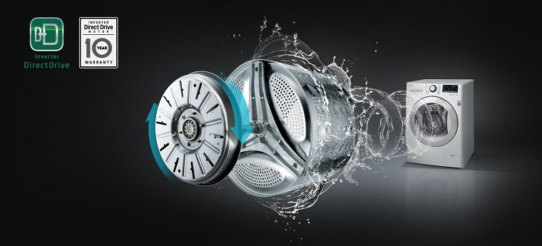 Inverter washing machine operates smooth, durable