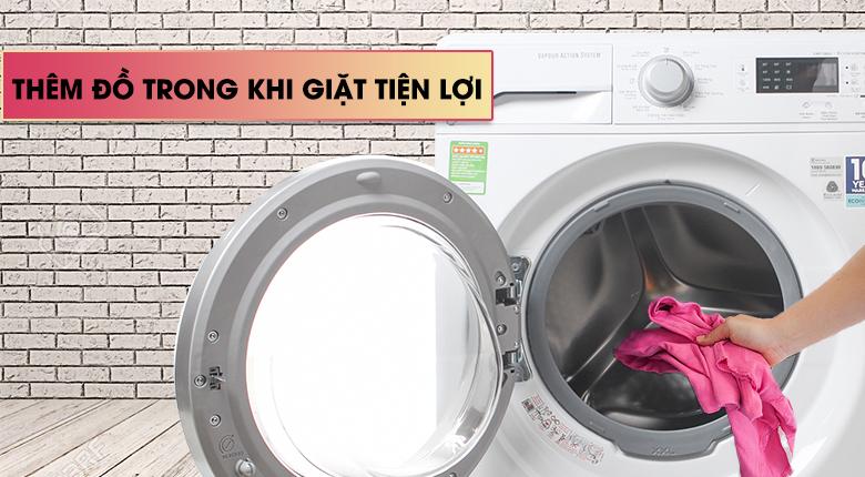 Chức năng Add Clothes - Máy giặt Electrolux Inverter 8 kg EWF12853