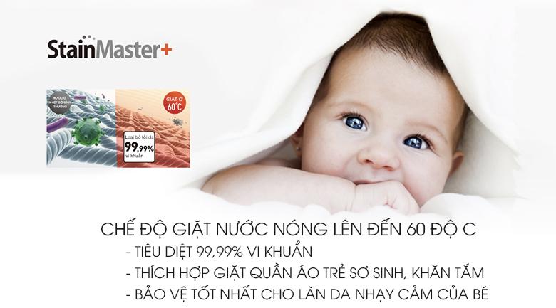 Máy giặt Panasonic 9kg NA-F90V5LMX - StainMaster+