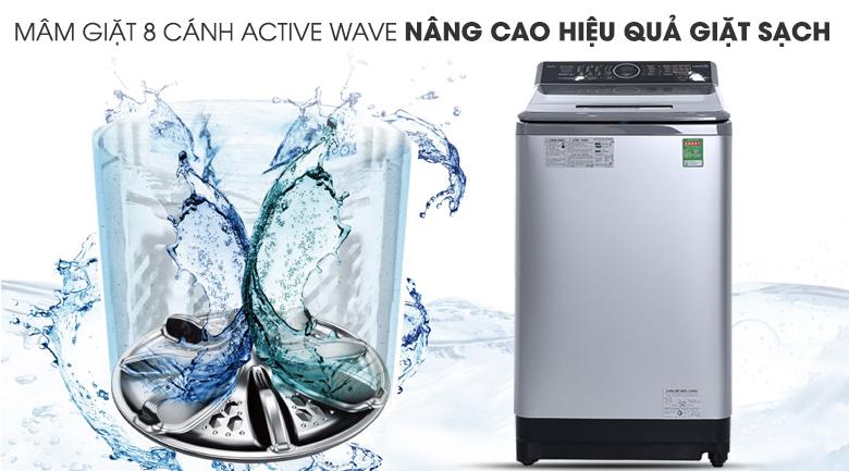 Mâm giặt 8 cánh - Máy giặt Panasonic 9kg NA-F90V5LMX