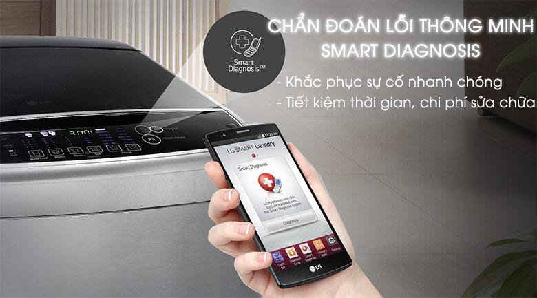Smart Diagnosis - Máy giặt LG Inverter 12 kg T2312DSAV