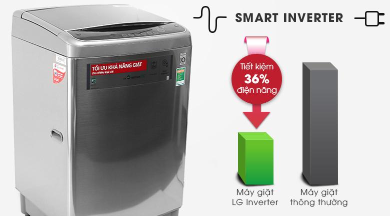 Inverter - Máy giặt LG Inverter 12 kg T2312DSAV