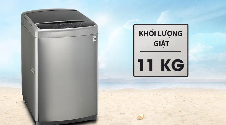 Khối lượng giặt - Máy giặt LG Inverter 11 kg T2311DSAL
