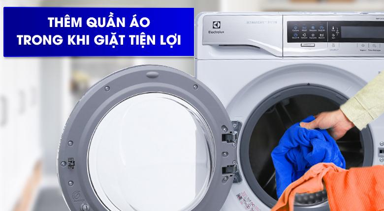 Chức năng Add Clothes - Máy giặt Electrolux Inverter 11 kg EWF14113