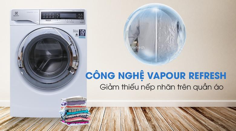 Chức năng Vapour Refresh - Máy giặt Electrolux Inverter 11 kg EWF14113