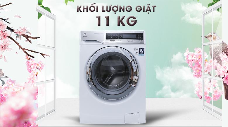 Khối lượng giặt 11 kg - Máy giặt Electrolux Inverter 11 kg EWF14113