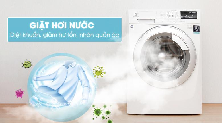Chức năng giặt hơi nước - Máy giặt Electrolux Inverter 8 kg EWF10844