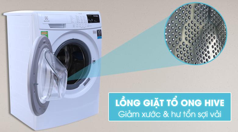 Lồng giặt HIVE hình tổ ong giúp giặt sạch quần áo một cách nhẹ nhàng