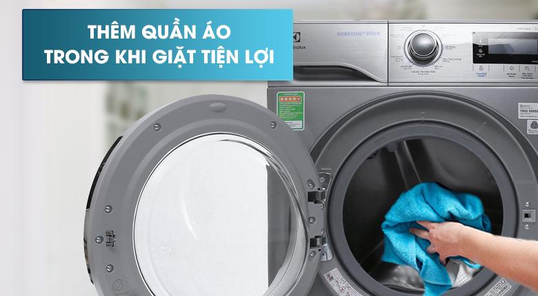 Chức năng Add Clothes - Máy giặt Electrolux Inverter 9.5 kg EWF12935S
