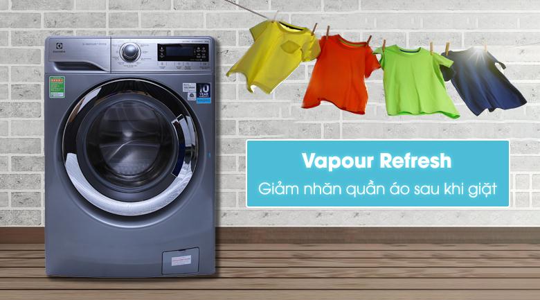 Công nghệ Vapour Refresh - Máy giặt Electrolux Inverter 9.5 kg EWF12935S