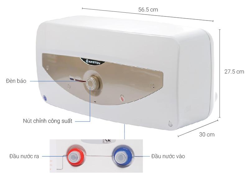 Thông số kỹ thuật Máy nước nóng Ariston 15 lít SL 15 MT