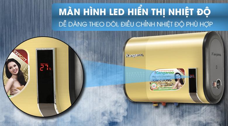 Màn hình LED - Bình tắm nóng lạnh Kangaroo 22 lít KG664Y