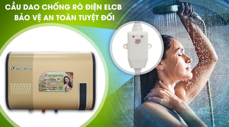 ELCB - Bình tắm nóng lạnh Kangaroo 32 lít KG660Y