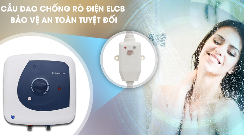 Cầu dao chống rò điện ELCB - Máy nước nóng Ariston STAR B 15 R 2.5 FE