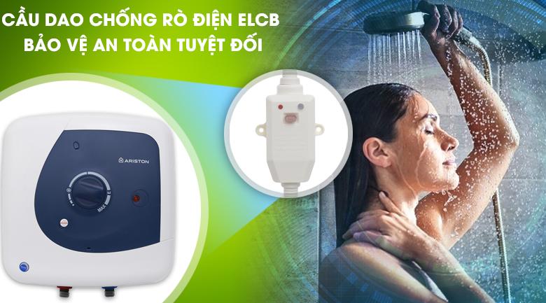 Cầu dao ELCB chống rò điện  - Bình nóng lạnh Ariston 30 lít STAR B 30 R 2.5 FE