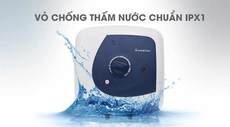 chống thấm nước chuẩn IPX1 - Bình nóng lạnh Ariston 30 lít STAR B 30 R 2.5 FE