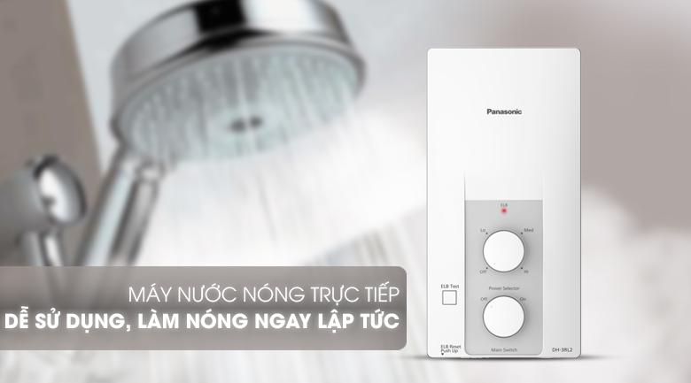 Máy nước nóng trực tiếp - Máy nước nóng Panasonic DH-3RL2VH 3.5KW