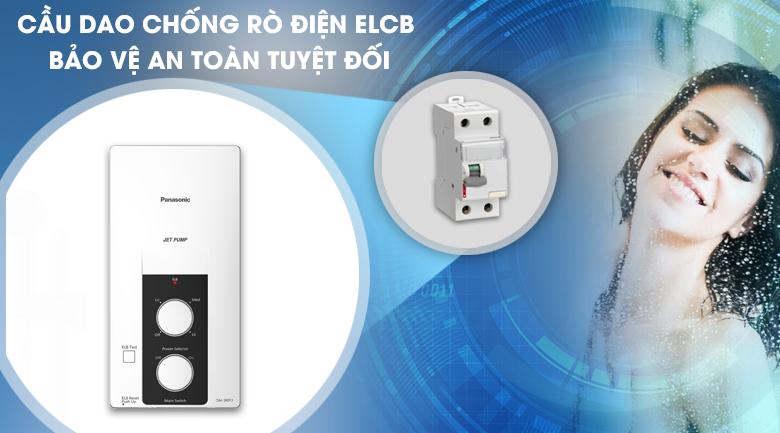 Cầu dao chống rò điện ELCB - Máy nước nóng Panasonic DH-3RP2VK