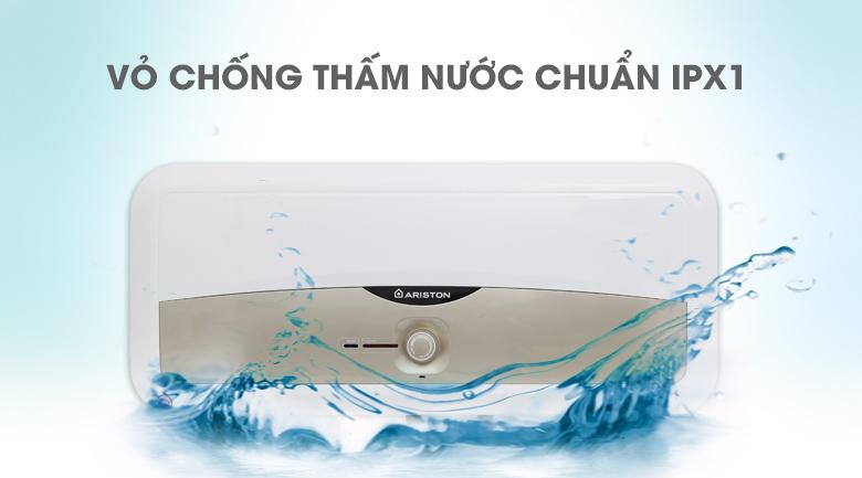 chống thấm nước chuẩn IPX1 - Bình nóng lạnh Ariston SL 30 ST 2.5 FE - MT 30 lít
