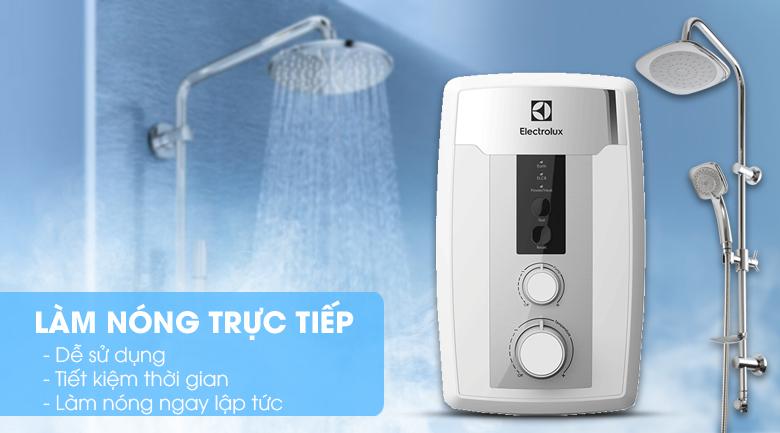 Làm nóng trực tiếp - Máy nước nóng Electrolux EWE351HB-DWS1