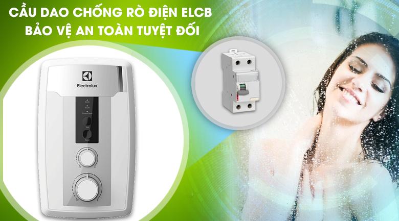 Cầu dao chống rò điện ELCB - Máy nước nóng Electrolux EWE351HB-DWS1