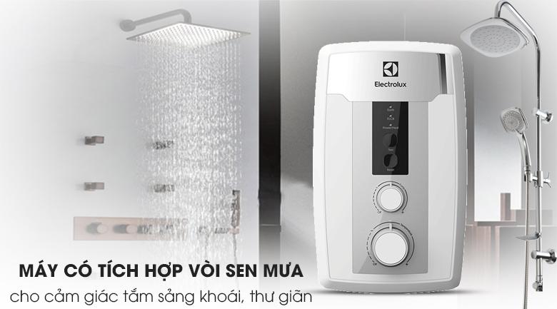 Vòi sen mưa - Máy nước nóng Electrolux EWE351HB-DWS1