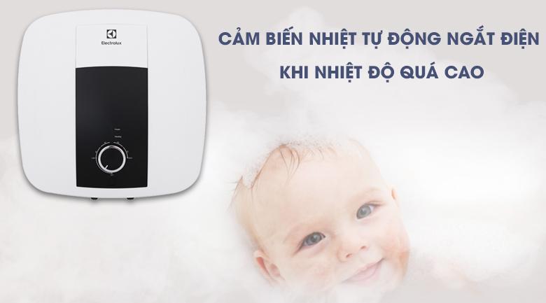 Hệ thống an toàn TBSE - Bình nước nóng Electrolux 15 lít EWS152DX-DWM