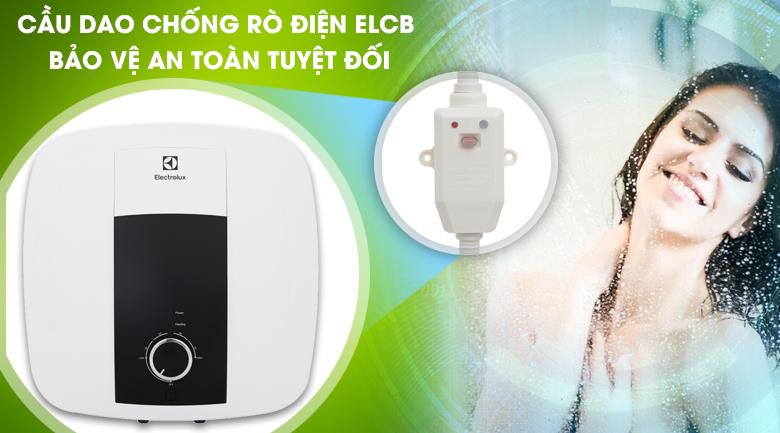 Cầu dao ELCB - Bình nước nóng Electrolux 30 lít EWS302DX-DWM