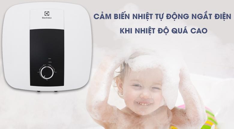 Bảo vệ an toàn cho làn da khỏi nguy cơ bị bỏng do nước quá nóng