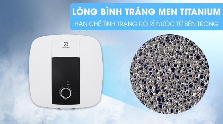 Lòng bình tráng men Titanium - Bình nước nóng Electrolux 30 lít EWS302DX-DWM